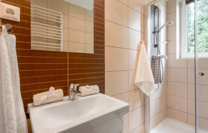 this image shows bathroom renovation in san ramon, ca