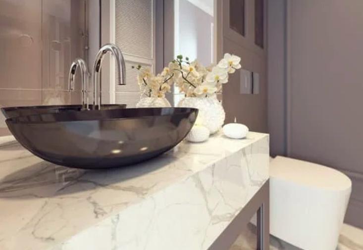 this image shows san ramon bathroom countertops